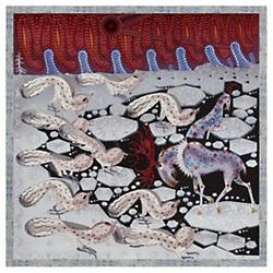 Polar Byzantine III Square Rug