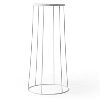 Shown in White (Wire Base sold separately)