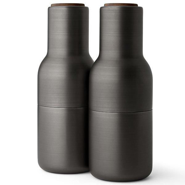 Bottle Grinders, Brass - Set of 2
