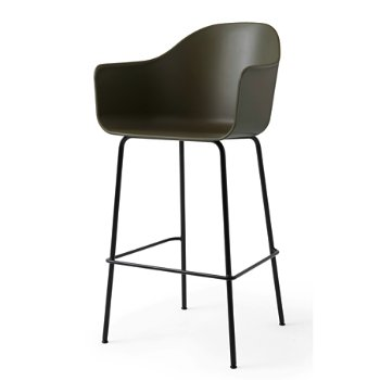 Shown in Olive with Black finish, Bar size