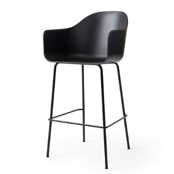 Shown in Black with Black finish, Bar size
