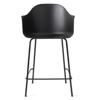 Shown in Black with Black finish, Counter size