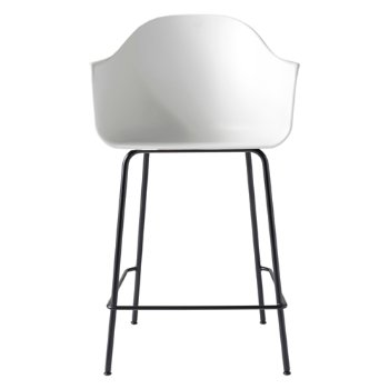Shown in White with Black finish, Counter size