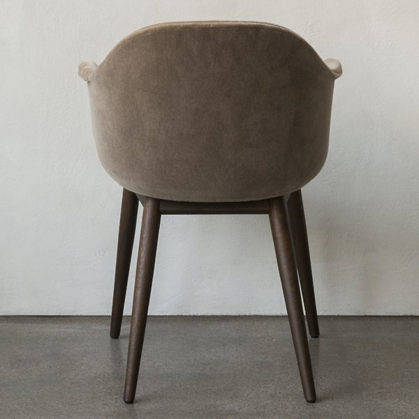 Harbour Chair Wood Base, Upholstered