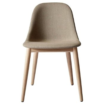 Shown in Natural Oak Legs, City Velvet: Grey fabric
