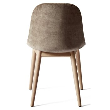 Shown in Natural Oak Legs, Remix 2: Sandy Brown fabric