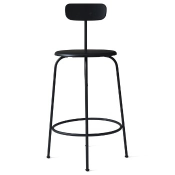 Shown in Black with No Upholsterya fabric, Counter Height