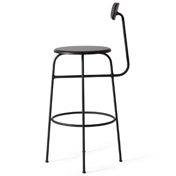Shown in Black with No Upholstery, Bar height
