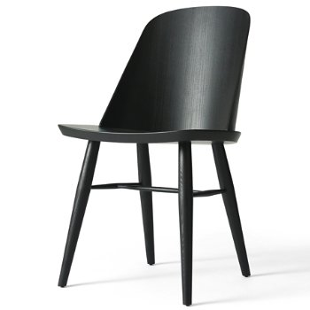 Shown in Black Ash finish, Without Upholstery