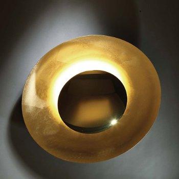 Shown in Gold Leaf finish, Medium size