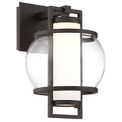 Lucid LED Outdoor Wall Sconce