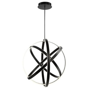 Shown in Black finish, 60-inch size