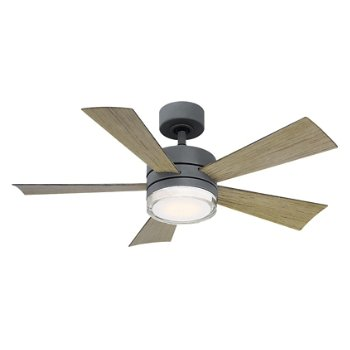 Shown in Bronze Fan Body and Blade finish, 52 inch