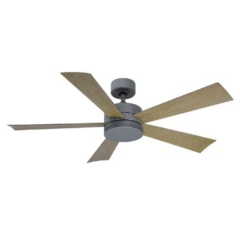 Shown in Stainless Steel Fan Body and Blade finish, 42 inch