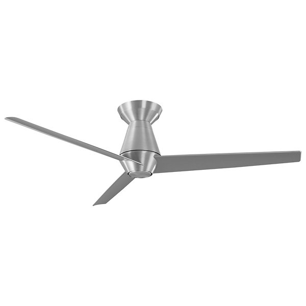 Slim Ceiling Fan with LED Light