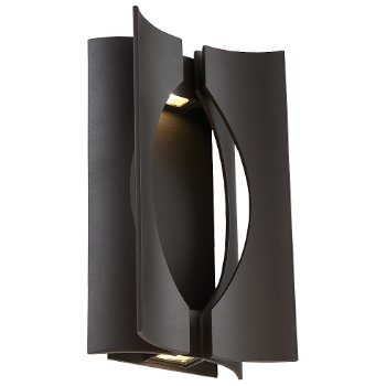 Origami Indoor/Outdoor LED Wall Sconce