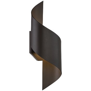Marvelous Helix Indoor/Outdoor LED Wall Sconce
