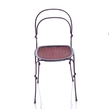 Shown in Purple Violet Frame/ Red Seat