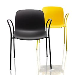 Troy Plastic Armchair, Set of 2