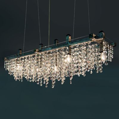 Matrix Crystal Chandelier