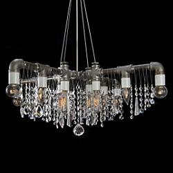 Industrial X Chandelier