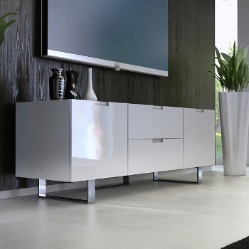 Shown in White Lacquer finish, in use