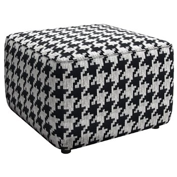 Shown in Black White Houndstooth