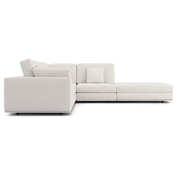 Perry Preconfigured 1 Arm Corner Sectional Sofa