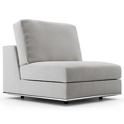 Perry Modular Armless Sofa Chair