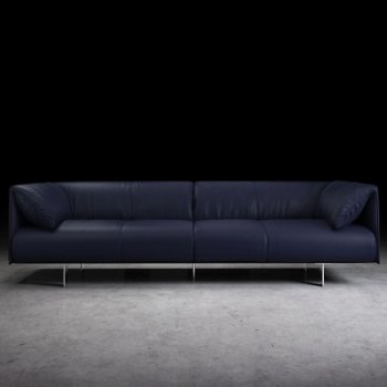 Shown in Navy Leather