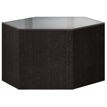 Shown in Steeple Gray Glass and Gray Oak, 10 Inch