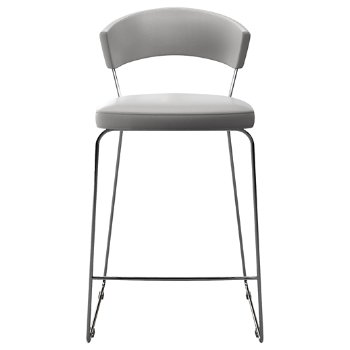 Shown in White Eco Leather, Tall size
