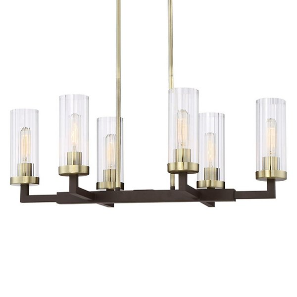 Ainsley Court 6-Light Linear Suspension