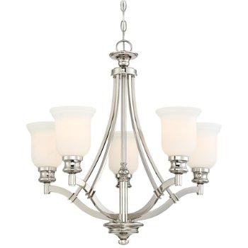 Audrey's Point Chandelier