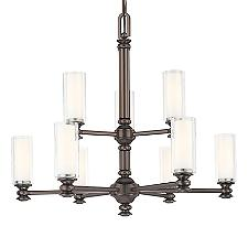 Harvard Court 2 Tiered Chandelier