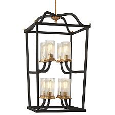 Posh Horizon 8-Light Chandelier