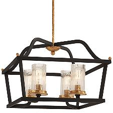 Posh Horizon 4-Light Pendant Light