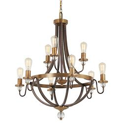 Safra 9-Light Chandelier