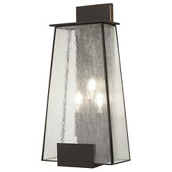 Bistro Dawn 3-Light Outdoor Wall Sconce