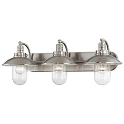 Downtown Edison Domed Bath Bar (3 Lights) - OPEN BOX RETURN