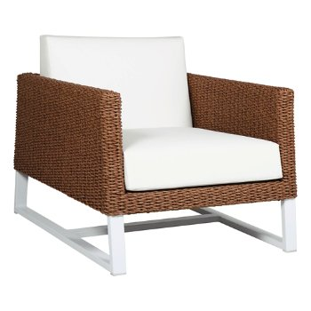 Shown in White fabric, White base
