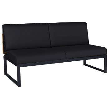 Shown in Black fabric with Anthracite base finish