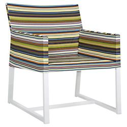 Stripe Casual Chair