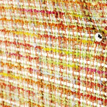 Shown in Boucle Rainbow