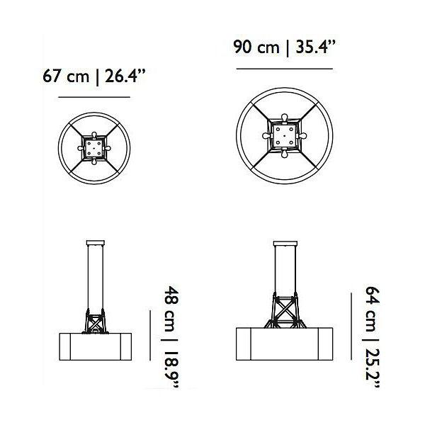 Construction Drum Pendant