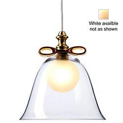 Bell Pendant (Transparent/White/Small) - OPEN BOX RETURN