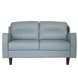 Isabel Leather Loveseat