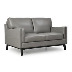 Osman Leather Loveseat