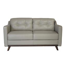 Monika Leather Loveseat