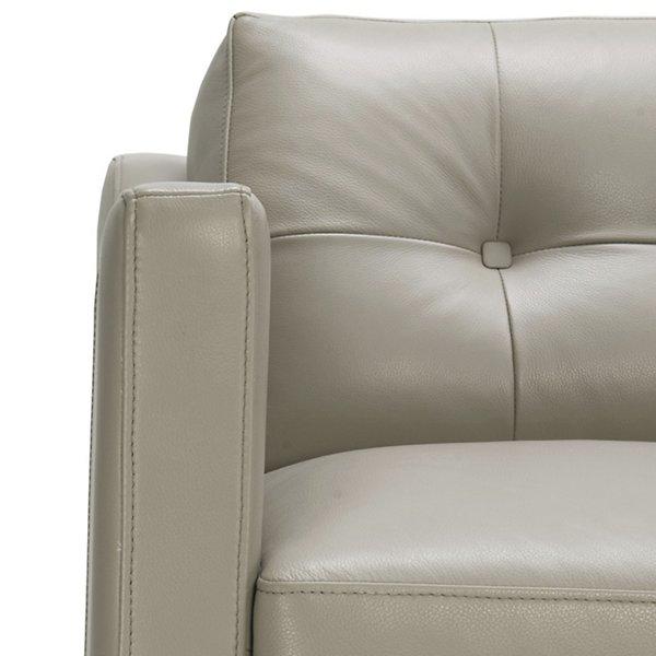 Monika Leather Loveseat